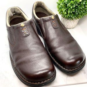 Merrell Men's Brown World Legend Leather Loafers